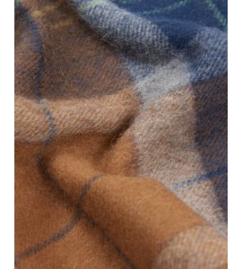 Barbour wool and cashmere scarf  holden tartan