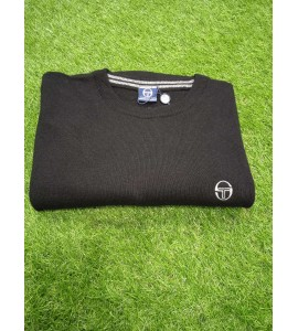 Sergio Tacchini crew neck sweater black