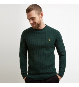 Lyle & Scott Cable jumper  jade green