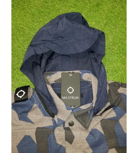 MA.STRUM  Overshirt black base camo