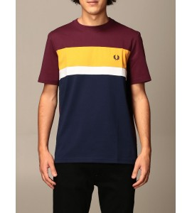 Fred Perry t-shirt colour block