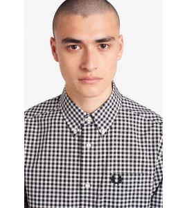 Fred Perry camicia gingham